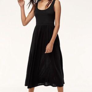 Aritzia Black Maxi Dress